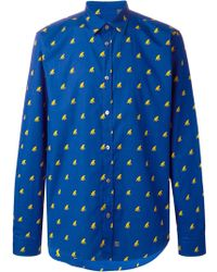Moschino Monkey Print Shirt - Lyst
