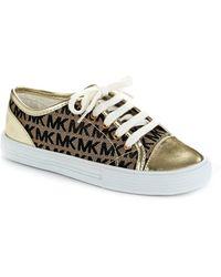 MICHAEL Michael Kors Logo Sneakers - Lyst