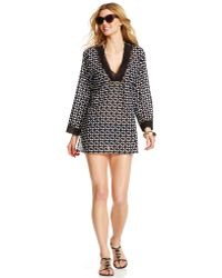 La Blanca - Printed Tunic Cover Up - Lyst