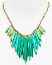 T Tahari - Ombre Tassel Necklace 16 - Lyst