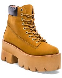 Jeffrey Campbell Brown Nirvana Boot - Lyst