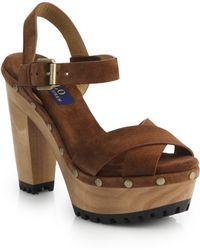 Polo Ralph Lauren - Lacie Clog Sandals - Lyst