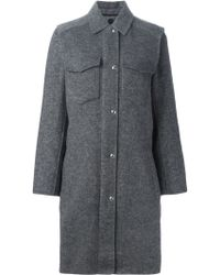 Alexander Wang | Single Breasted Coat | Lyst