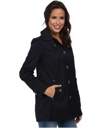 MICHAEL Michael Kors Single Breasted Coat - Lyst