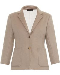 The Row Haven Wool-Blend Jacket - Lyst