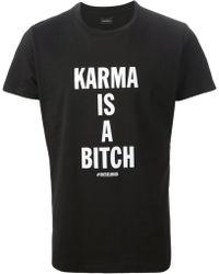 Diesel 'Dh-T-Karma' T-Shirt black - Lyst