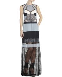 BCBGMAXAZRIA Runway Rakel Silk Dress - Lyst