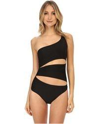Adidas By Stella McCartney Asymmetric Swimsuit S87808 - Lyst