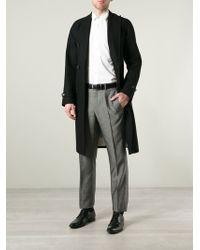 Giorgio Armani Straight Leg Trousers - Lyst