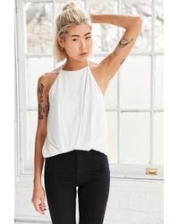 Silence + Noise | Finley Plunge-back Cami | Lyst
