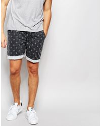 ASOS - Skinny Chino Shorts With Mini Dot Print - Lyst