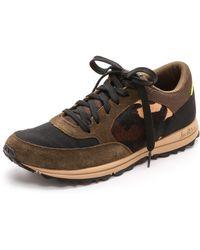 Sam Edelman Des Jogging Sneakers - Moss Greenblack - Lyst