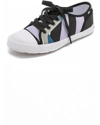Hunter Original Dazzle Lo Top Sneakers - Bright Watermelon/Pale Citrine - Lyst