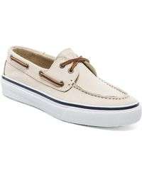 Sperry Top-sider Beige Bahama Washable - Lyst