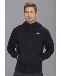Nike | Aw77 Fleece Fz Hoodie | Lyst
