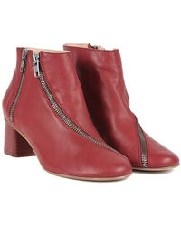 Acne Studios Marlie Zippered Boot - Lyst