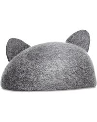 Eugenia Kim Caterina Cat-Ear Cap - Lyst