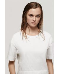 Rag & Bone Girl Tee - Lyst