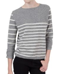 Chinti And Parker Mix Stripe Sweater - Lyst