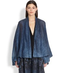 Donna Karan New York Caftan Jacket - Lyst