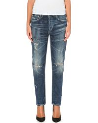 Citizens Of Humanity Corey Slim Low-rise Stretch-denim Jeans - Lyst