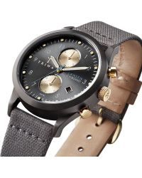 Triwa - Walter Lansen Grey Chrono Watch - Lyst