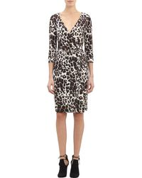 Diane Von Furstenberg New Julian Cheetah-print Wrap Dress - Lyst