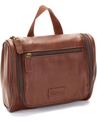 Perry Ellis | Handy Faux-leather Travel Kit | Lyst