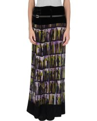 Jean Paul Gaultier Long Skirt - Lyst