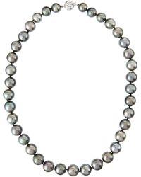 Belpearl Tahitian Pearl Choker Necklace - Lyst