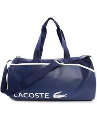 Lacoste Navy Weekend Bag - Lyst