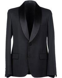 Maison Margiela Wool-Mohair Tuxedo Blazer - Lyst