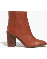 Madewell The Ollie Boot - Lyst