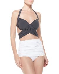 Norma Kamali Bill Mio One-Piece Swimsuit - Lyst