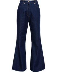 Natasha Zinko Flared Jeans - Lyst