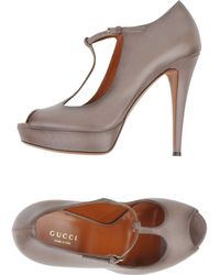 Gucci Gray Court - Lyst