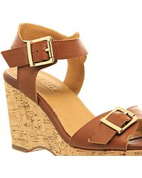 Office Winchester Cork Wedge - Lyst