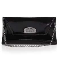 Christian Louboutin | Vero Dodat Patent Leather Clutch | Lyst