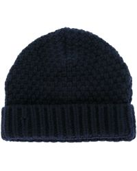 Oliver Spencer - Knitted Beanie - Lyst