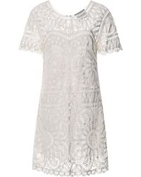 Sea Battenburg Lace Short Sleeve Dress - Lyst