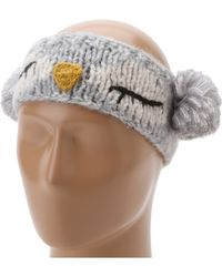 San Diego Hat Company Knh3246 Sleeping Owl Pom Headband - Lyst