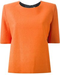 Thomas Tait - Boxy Fit Top - Lyst