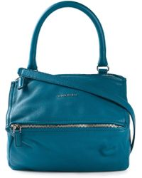 Givenchy Small 'Pandora' Tote blue - Lyst