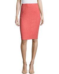 Lafayette 148 New York Modern Slim Skirt - Lyst