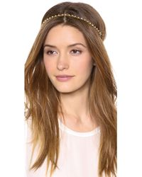 Dauphines of New York - The Bombshell Headband - Pyrite - Lyst