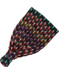 Missoni Crochet-knit Headband - Lyst