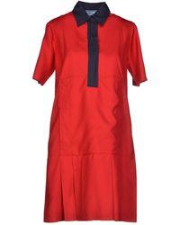 Prada Short Dress - Lyst