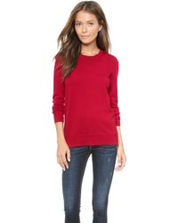 Rag & Bone Natalie Sweater Navy - Lyst
