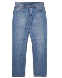Cheap Monday Linear Jeans T2 In Loose Tapered Fit - Lyst