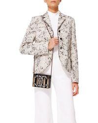 Madison Avenue Couture - Black/ Copper Cc Plexiglass Minaudiere - Lyst